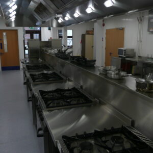 Saltash Campus Training Kitchen